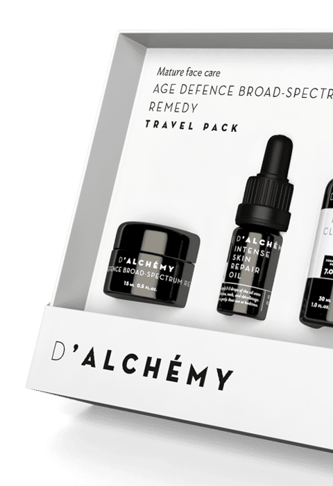 AGE DEFENCE BROAD SPECTRUM TRAVEL‑ PACK